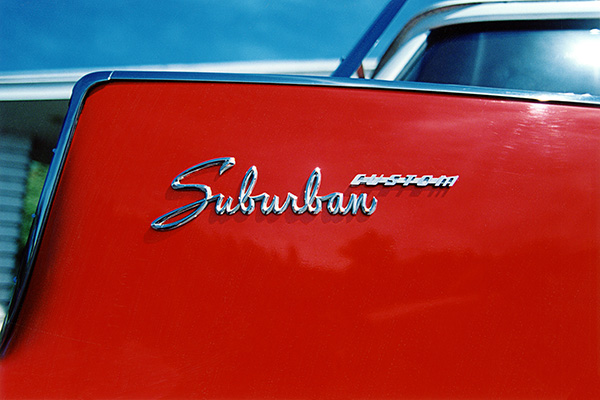 1959 Plymouth Custom Suburban Tailfin