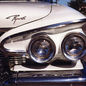 1961 Plymouth Custom Suburban Headlight